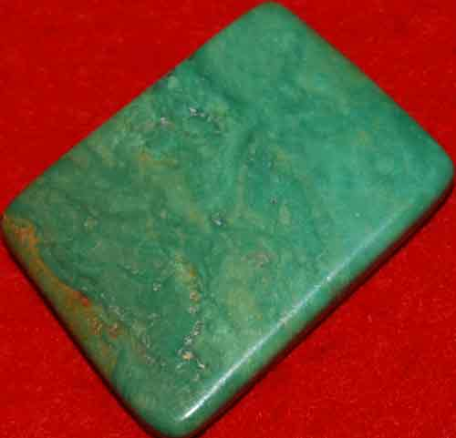 Mexican Green Turquoise Palm Stone #7