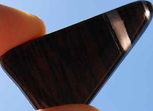 Mahogany Obsidian Flat Stone #2