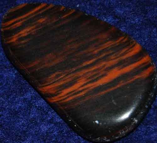Mahogany Obsidian Flat Stone #4