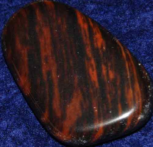 Mahogany Obsidian Flat Stone #6