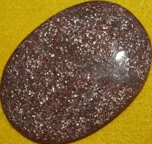 Muscovite Palm Stone #5