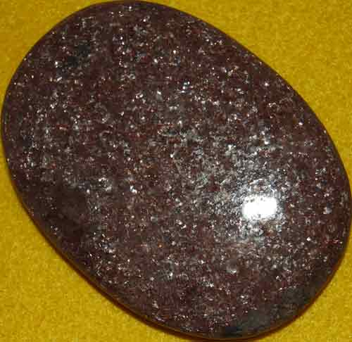 Muscovite Palm Stone #6