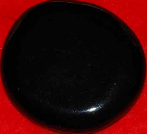 Black Obsidian Palm Stone #16