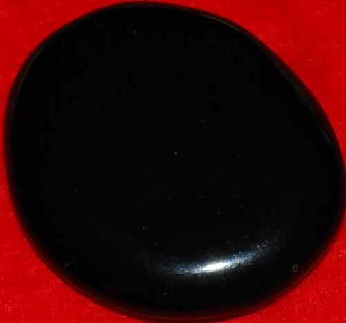 Black Obsidian Palm Stone #17