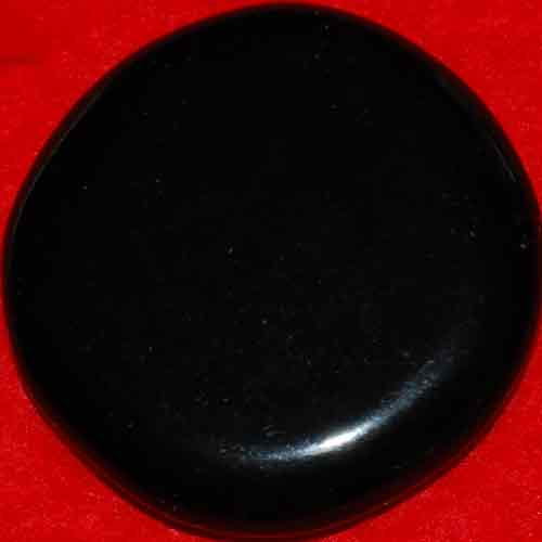Black Obsidian Palm Stone #20