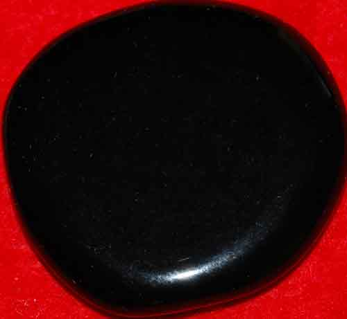 Black Obsidian Palm Stone #22