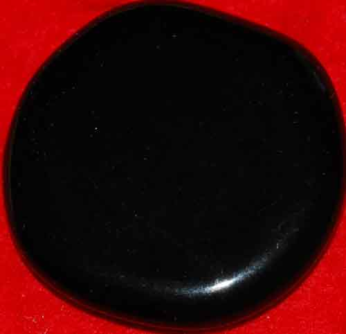 Black Obsidian Palm Stone #23