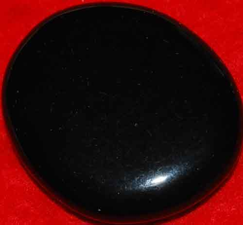 Black Obsidian Palm Stone #2