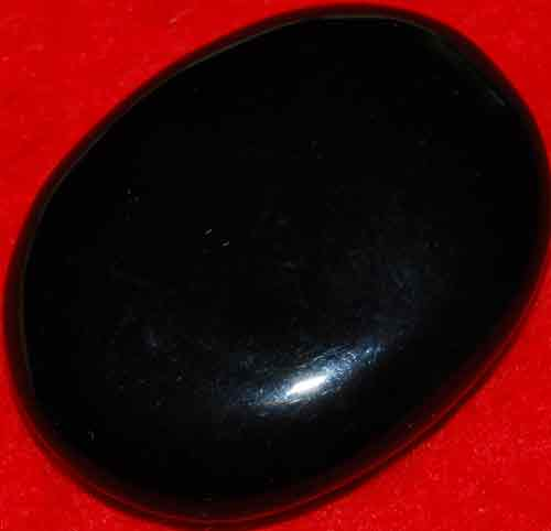 Black Obsidian Palm Stone #3