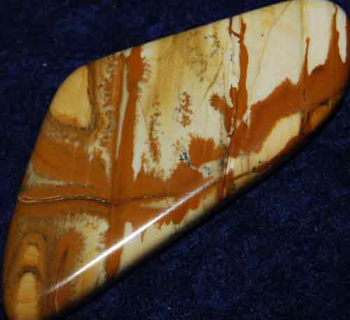 Owyhee Picture Jasper Palm Stone #3