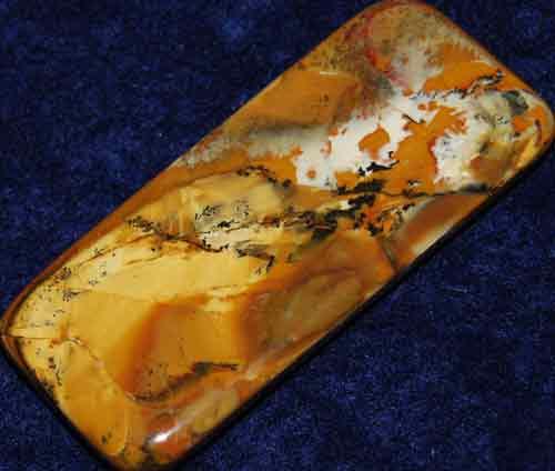 Owyhee Picture Jasper Palm Stone #8