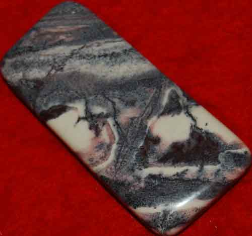 Porcelain Jasperl Palm Stone #7