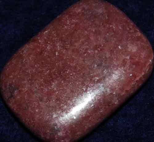 Rhodonite Palm Stone #10
