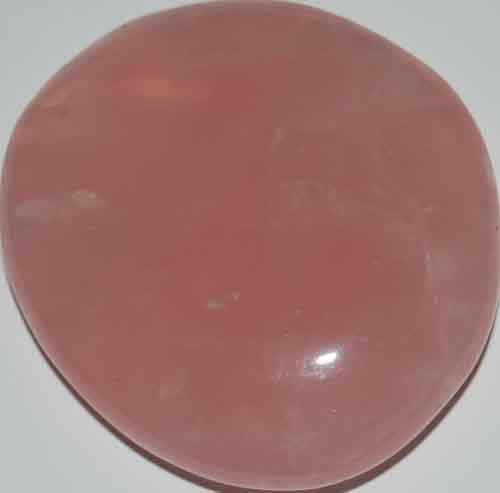 Rose Quartz Palm Stone #14