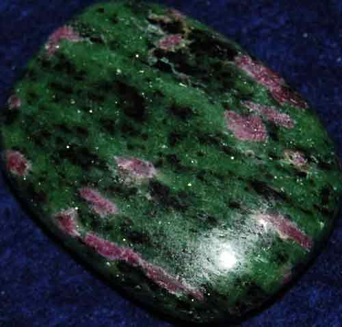 Anyolite (Ruby in Zoisite) Palm Stone #10