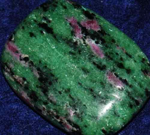 Anyolite (Ruby in Zoisite) Palm Stone #1