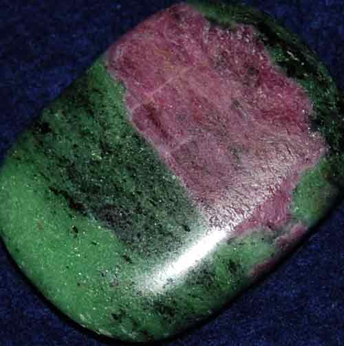 Anyolite (Ruby in Zoisite) Palm Stone #30