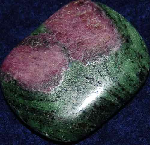 Anyolite (Ruby in Zoisite) Palm Stone #32