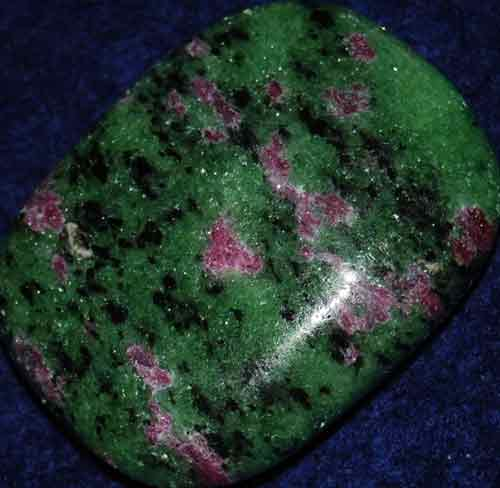 Anyolite (Ruby in Zoisite) Palm Stone #8