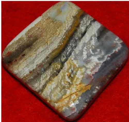 Serape Jasper Palm Stone #1