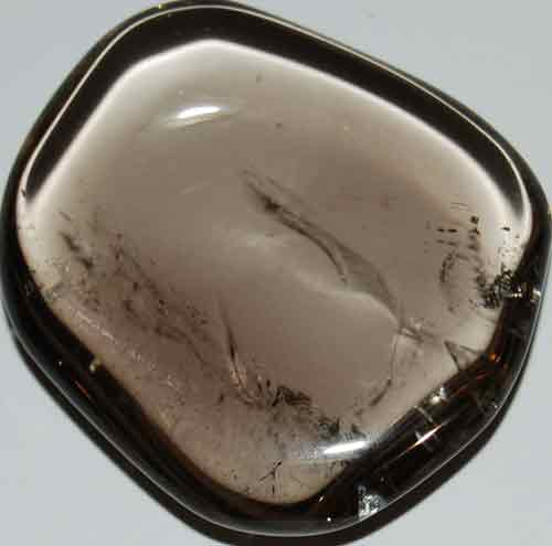 Smoky Quartz Palm Stone #13