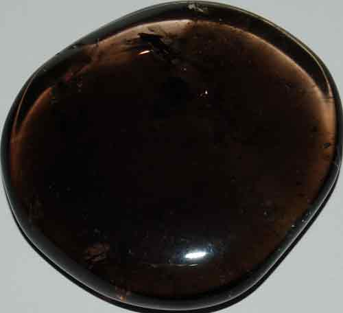 Smoky Quartz Palm Stone #21