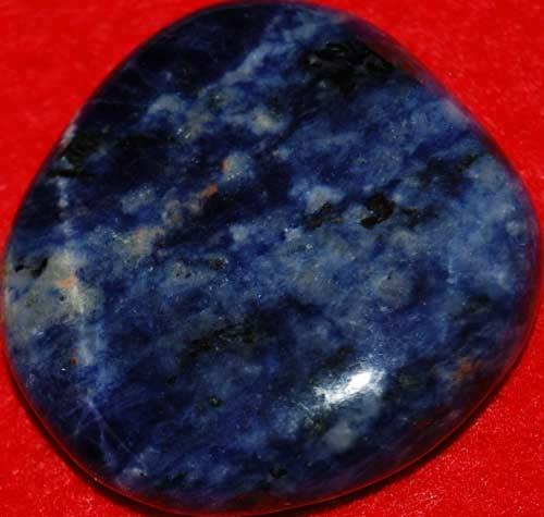 Sodalite Palm Stone #10