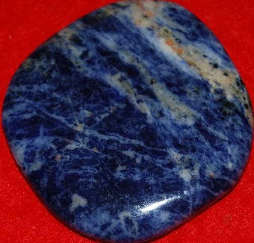 Sodalite Palm Stone #16