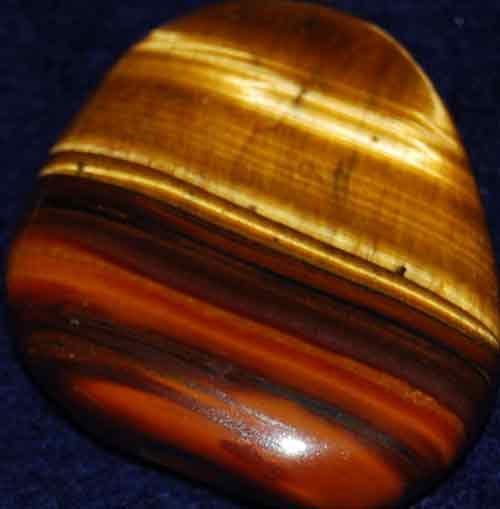 Tiger Jasper Palm Stone #2