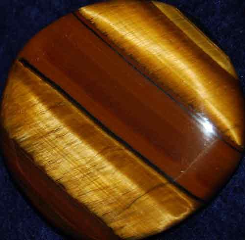 Tiger Jasper Palm Stone #3