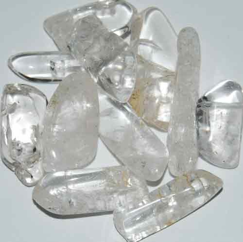 11 Danburite Tumbled Stones #4