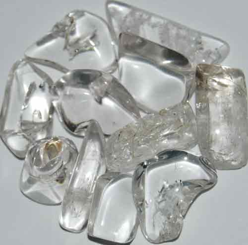 11 Danburite Tumbled Stones #8