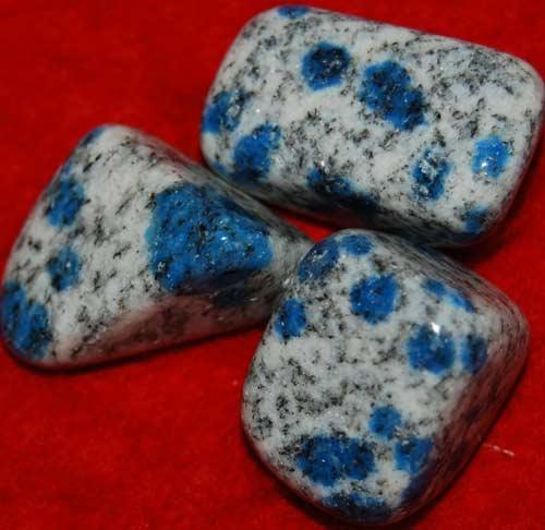 Three  K-2/Ketonite Tumbled Stones #10