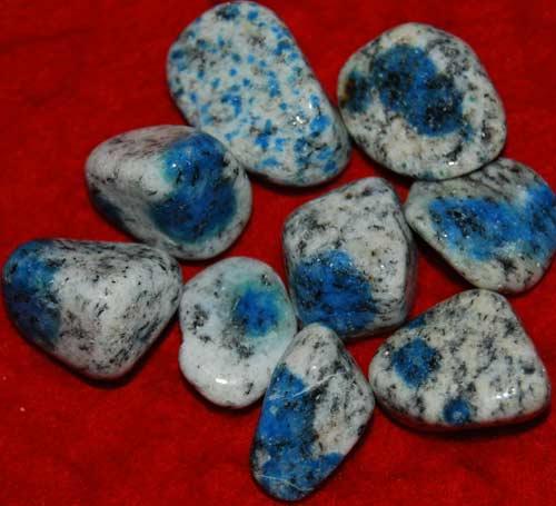 Nine K-2/Ketonite Tumbled Stones #1