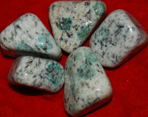 Five K-2/Ketonite Tumbled Stones #22