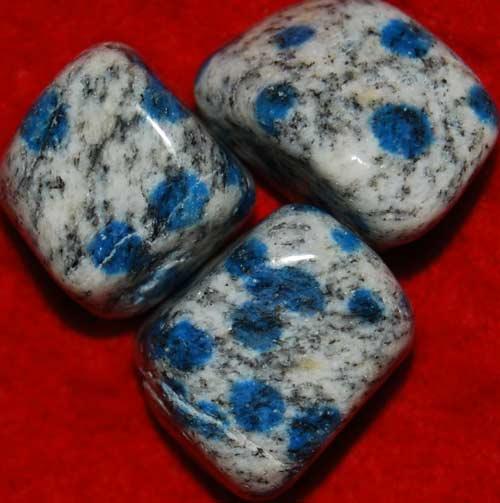 Three  K-2/Ketonite Tumbled Stones #8