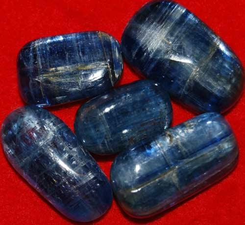 Five Kyanite Tumbled Stones #6