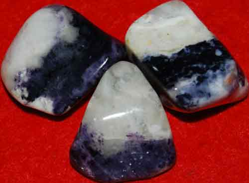 3 Mexican Blue Opal Tumbled Stones #4