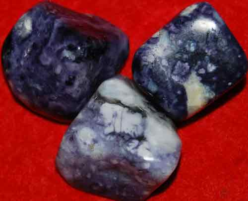 3 Mexican Blue Opal Tumbled Stones #5
