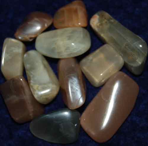 11 Tumbled Moonstones #3