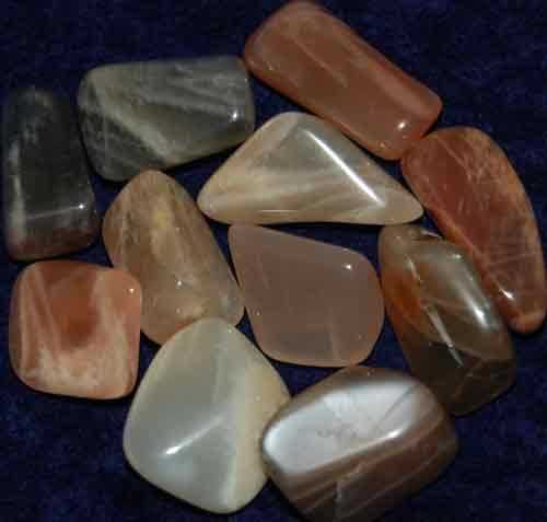 11 Tumbled Moonstones #6