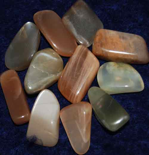 11 Tumbled Moonstones #8