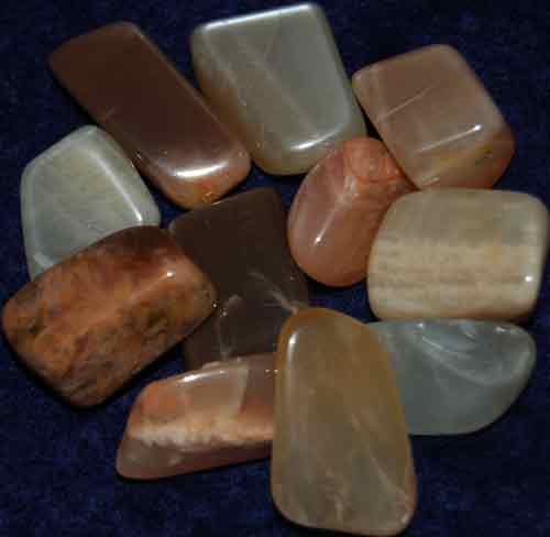 11 Tumbled Moonstones #9