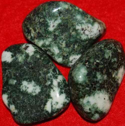 3 Preseli Bluestone (Stonehenge) Tumbled Stones #17