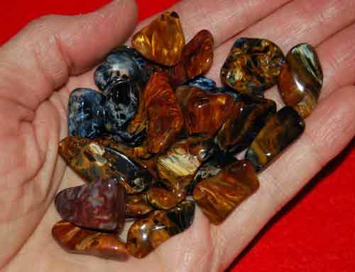 21 Pietersite Tumbled Stones #11