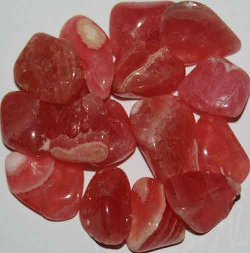 15 Rhodochrosite Tumbled Stones #10