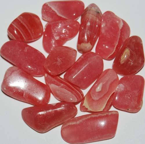 15 Rhodochrosite Tumbled Stones #2