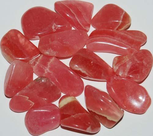 15 Rhodochrosite Tumbled Stones #6