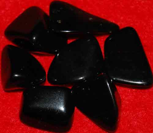 7 Schorl (Black Tourmaline) Tumbled Stones #15