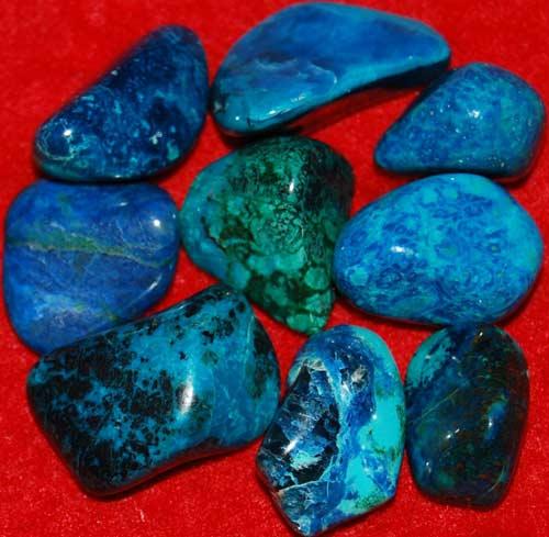 9 Shattuckite Tumbled Stones #3